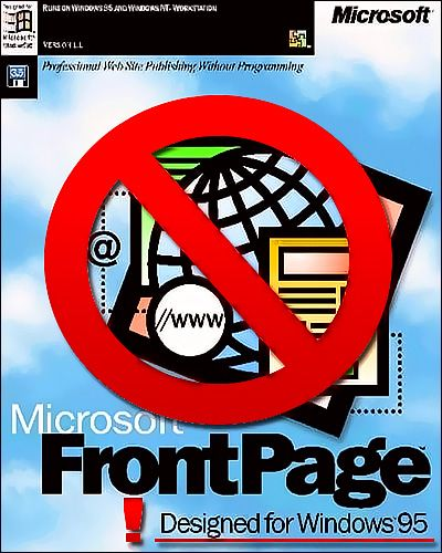 FrontPage Discontinued