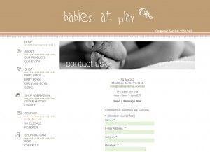 Contact Page - Babies at Play