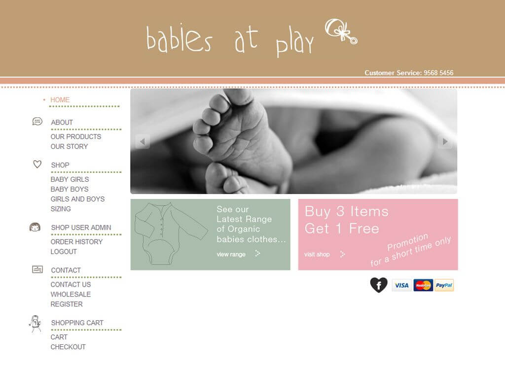 Home Page - Babies at Play