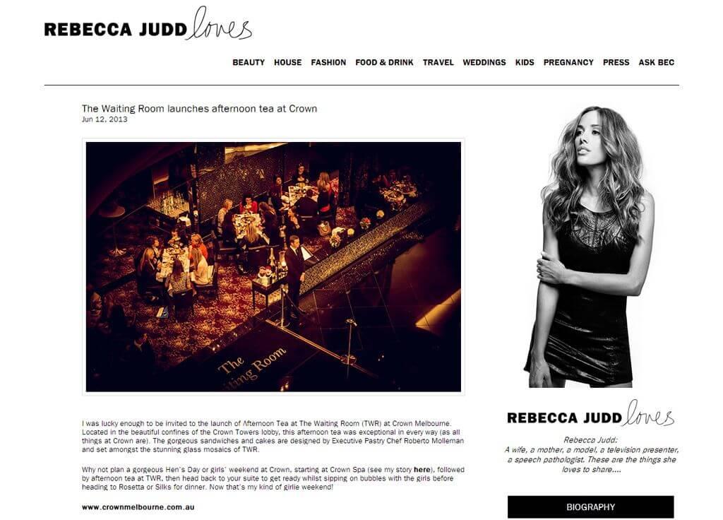 Rebecca Judd Loves