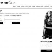 Login Page - Rebecca Judd Loves