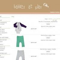 Shop List View Page - Babies at Play