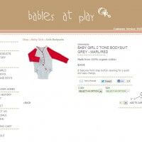 Single Product Page - Babies at Play