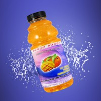 Mango Wango Splash Juice Bottle Mock Up