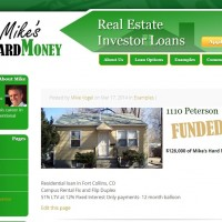 Mike's Hard Money - Example Investment Property