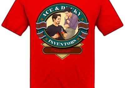 Inventor Logo T-Shirt - PocketPipe E Commerce Website