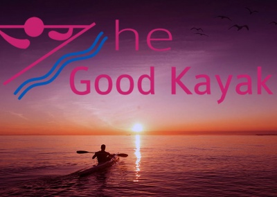 The Good Kayak Logo for Twitter