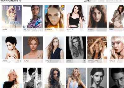 Women Models Page - Giant Management